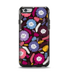The Colorful Hugged Vector Leaves and Flowers Apple iPhone 6 Otterbox Symmetry Case Skin Set