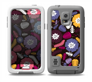 The Colorful Hugged Vector Leaves and Flowers Skin for the Samsung Galaxy S5 frē LifeProof Case