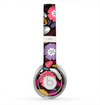 The Colorful Hugged Vector Leaves and Flowers Skin for the Beats by Dre Solo 2 Headphones