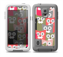 The Colorful Hypnotic Cats Skin for the Samsung Galaxy S5 frē LifeProof Case