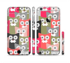 The Colorful Hypnotic Cats Sectioned Skin Series for the Apple iPhone 6 Plus