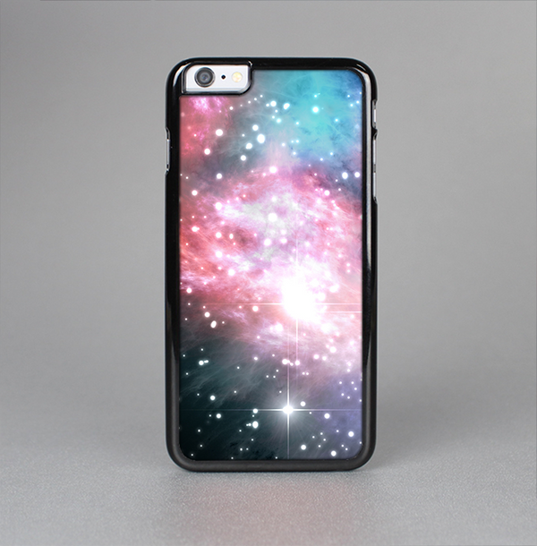 The Colorful Neon Space Nebula Skin-Sert Case for the Apple iPhone 6 Plus