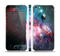 The Colorful Neon Space Nebula Skin Set for the Apple iPhone 5