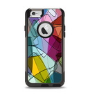 The Colorful Overlapping Translucent Shapes Apple iPhone 6 Otterbox Commuter Case Skin Set