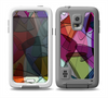 The Colorful Overlapping Translucent Shapes Skin for the Samsung Galaxy S5 frē LifeProof Case