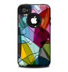 The Colorful Overlapping Translucent Shapes Skin for the iPhone 4-4s OtterBox Commuter Case