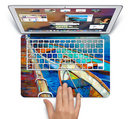 "The Colorful Pastel Docked Boats Skin Set for the Apple MacBook Pro 15"" with Retina Display"