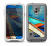 The Colorful Pastel Docked Boats Skin for the Samsung Galaxy S5 frē LifeProof Case