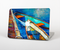 The Colorful Pastel Docked Boats Skin for the Apple MacBook Pro Retina 15""