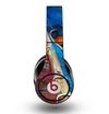 The Colorful Pastel Docked Boats Skin for the Original Beats by Dre Studio Headphones