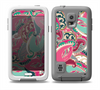 The Colorful Pink & Teal Seamless Paisley Skin Samsung Galaxy S5 frē LifeProof Case
