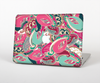 The Colorful Pink & Teal Seamless Paisley Skin for the Apple MacBook Pro 13""