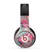 The Colorful Pink & Teal Seamless Paisley Skin for the Beats by Dre Pro Headphones