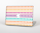 "The Colorful Polka Dots on White Skin Set for the Apple MacBook Pro 15"" with Retina Display"
