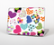 The Colorful Polkadot Hearts Skin for the Apple MacBook Pro Retina 15""