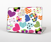 The Colorful Polkadot Hearts Skin for the Apple MacBook Pro Retina 13""