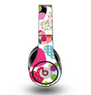 The Colorful Polkadot Hearts Skin for the Original Beats by Dre Studio Headphones