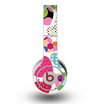 The Colorful Polkadot Hearts Skin for the Original Beats by Dre Wireless Headphones
