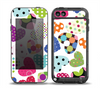 The Colorful Polkadot Hearts Skin for the iPod Touch 5th Generation frē LifeProof Case