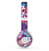 The Colorful Purple Flower Sprouts Skin for the Beats by Dre Solo 2 Headphones