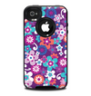 The Colorful Purple Flower Sprouts Skin for the iPhone 4-4s OtterBox Commuter Case