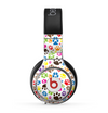 The Colorful Scattered Paw Prints Skin for the Beats by Dre Pro Headphones