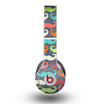 The Colorful Scratched Mustache Pattern Skin for the Beats by Dre Original Solo-Solo HD Headphones