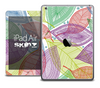 The Colorful Seamless Leaves Skin for the iPad Air