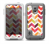 The Colorful Segmented Scratched ZigZag Skin Samsung Galaxy S5 frē LifeProof Case
