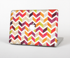 The Colorful Segmented Scratched ZigZag Skin for the Apple MacBook Pro 13""