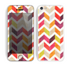 The Colorful Segmented Scratched ZigZag Skin for the Apple iPhone 5c