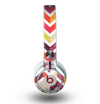 The Colorful Segmented Scratched ZigZag Skin for the Beats by Dre Mixr Headphones
