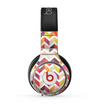 The Colorful Segmented Scratched ZigZag Skin for the Beats by Dre Pro Headphones