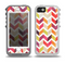 The Colorful Segmented Scratched ZigZag Skin for the iPhone 5-5s OtterBox Preserver WaterProof Case