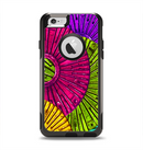 The Colorful Segmented Wheels Apple iPhone 6 Otterbox Commuter Case Skin Set
