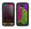 The Colorful Segmented Wheels Samsung Galaxy S4 LifeProof Fre Case Skin Set