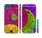 The Colorful Segmented Wheels Sectioned Skin Series for the Apple iPhone 6s