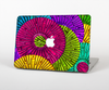 The Colorful Segmented Wheels Skin for the Apple MacBook Pro 15""
