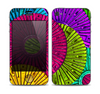 The Colorful Segmented Wheels Skin for the Apple iPhone 4-4s
