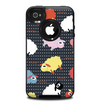 The Colorful Sheep Polka Dot Pattern Skin for the iPhone 4-4s OtterBox Commuter Case