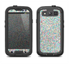 The Colorful Small Sprinkles Samsung Galaxy S3 LifeProof Fre Case Skin Set