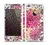 The Colorful Translucent Water-Flowers Skin Set for the Apple iPhone 5