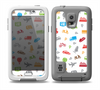 The Colorful Travel Collage Pattern Skin for the Samsung Galaxy S5 frē LifeProof Case