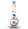 The Colorful Travel Collage Pattern Skin for the Beats by Dre Mixr Headphones