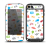 The Colorful Travel Collage Pattern Skin for the iPod Touch 5th Generation frē LifeProof Case