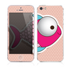 The Colorful Vector Big-Eyed Fish Skin for the Apple iPhone 5s
