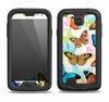 The Colorful Vector Butterflies Samsung Galaxy S4 LifeProof Fre Case Skin Set