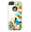 The Colorful Vector Butterflies Skin For The iPhone 5-5s Otterbox Commuter Case