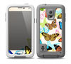 The Colorful Vector Butterflies Skin for the Samsung Galaxy S5 frē LifeProof Case