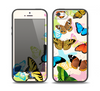 The Colorful Vector Butterflies Skin Set for the iPhone 5-5s Skech Glow Case